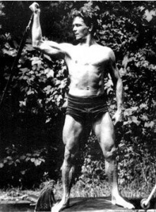 Young Joseph Pilates - Photo Credit Unknown