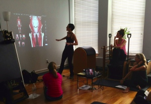 Transverse Abdominis at The Vertical Workshop Pilates Teacher Intensives - Pilates Back Bay - 2013